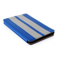 Husa tableta Modecom California Little Race albastra pentru Apple iPad Mini