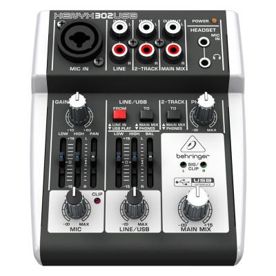 Mixer audio Behringer XENYX 302USB foto