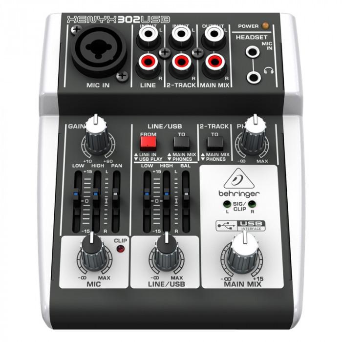 Mixer audio Behringer XENYX 302USB