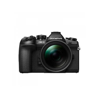 Aparat foto Mirrorless Olympus OM-D E-M1 Mark II 20 Mpx Black Kit EZ-M1240 PRO foto