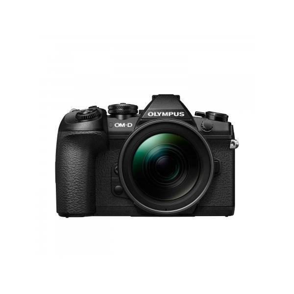 Aparat foto Mirrorless Olympus OM-D E-M1 Mark II 20 Mpx Black Kit EZ-M1240 PRO foto mare