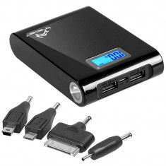 Acumulator extern Tracer Power Bank 10400 mAh Black - Baterie externa