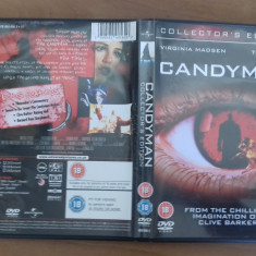 CANDYMAN - Collector's Edition - DVD [A] - Film SF, Engleza