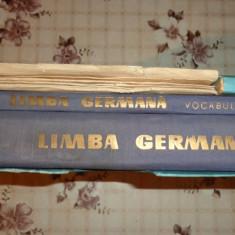 Limba germana ( I) curs practic + vocabular + discuri - Jean Livescu / E. Savin - Curs Limba Germana
