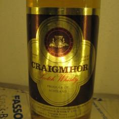 Whisky CRAIGMHOR, SCOTCH WHISKY, SCOZIA, cl 75 gr 40 ani 60