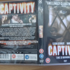 CAPTIVITY - DVD [C] - Film SF, Engleza