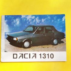 CARTE TEHNICA DACIA 1310=INSTRUCTIUNI DE FOLOSIRE - Carti auto