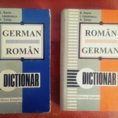Dictionar German-Roman / Roman-German - Emilia Savin, Ioan Lazarescu - Curs Limba Germana Altele