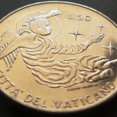 Moneda 50 Lire - VATICAN, anul 1969 *cod 1829 UNC --- rara ---, Europa