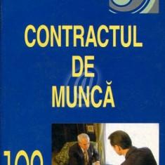 Contractul de munca - Carte Dreptul muncii