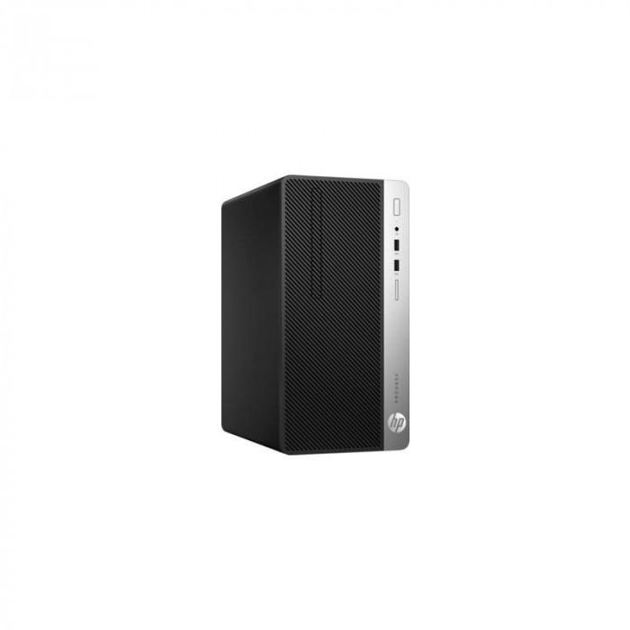 Sistem desktop HP ProDesk 400 G4 MT Intel Core i5-7500 8GB DDR4 1TB HDD Windows 10 Pro Black