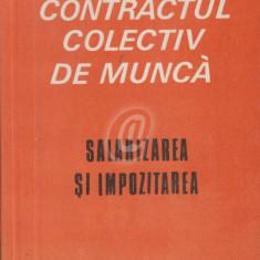 Contractul colectiv de munca - salarizarea si impozitarea (Texte comentate) - Carte Dreptul muncii