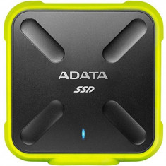 Hard disk extern ADATA SD700 512GB USB 3.1 Yellow - HDD extern A-data, 500-999 GB, 2.5 inch