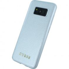 Husa Protectie Spate Guess GUHCS8IGLSI Argintiu pentru SAMSUNG Galaxy S8 - Husa Telefon