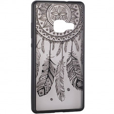 Husa Protectie Spate Star TOPLACE_G950 Lace Design 3 Negru pentru SAMSUNG Galaxy S8