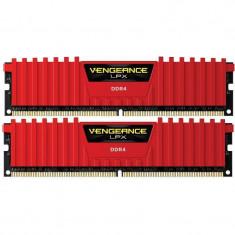 Memorie Corsair Vengeance LPX Red 8GB DDR4 2400 MHz CL16 Dual Channel Kit - Memorie RAM