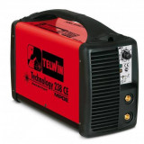 Aparat de sudura Telwin TECHNOLOGY 238 CE/MPGE Invertor 230V Rosu - Invertor sudura