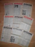 "Cumpara ieftin Avangarda ""ORIZONT"", lot 14 ziare-Director SASA PANA, Succesor ziar ""UNU"""