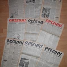 "Avangarda ""ORIZONT"", lot 14 ziare-Director SASA PANA, Succesor ziar ""UNU"""