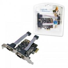 Logilink Adaptor PCI Express 2 x RS232 - Adaptor interfata PC