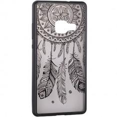 Husa Protectie Spate Star TOPLACE_S8PL Lace Design 3 Negru pentru SAMSUNG Galaxy S8 Plus