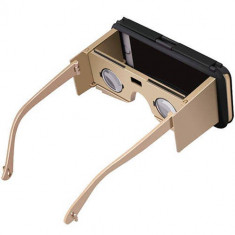 Ochelari VR Star Case II incorporati in husa protectie Black / Gold pentru Apple iPhone 6 Plus / 6S Plus