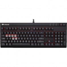 Tastatura gaming Corsair STRAFE Cherry MX Brown Mechanical US, Cu fir, USB