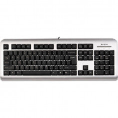 Tastatura A4Tech Touch LCD-720 USB Silver - Tastatura PC