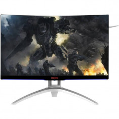 Monitor AOC Gaming AG272FCX Curbat 27 inch 4 ms Black - Monitor LED