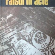 Falsul in acte - Carte Criminologie