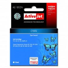 Cartuș cerneală ActiveJet AE-1812N Cyan - Accesoriu tigara electronica