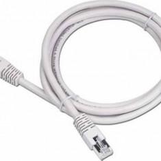 Cablu FTP Gembird Patchcord Cat 5e 10m Gri