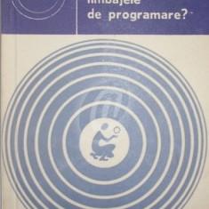 Ce sunt limbajele de programare? (1978) - Carte hardware