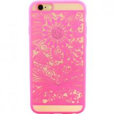 Husa Protectie Spate YUPPI LOVE TECH Spirit Natural Roz pentru APPLE iPhone 6 Plus, iPhone 6s Plus - Husa Telefon, Plastic, Carcasa