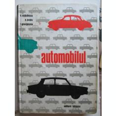 Carte tehnica Auto, 1968: Automobilul, V. Radulescu - E. Bratu - T. Georgescu