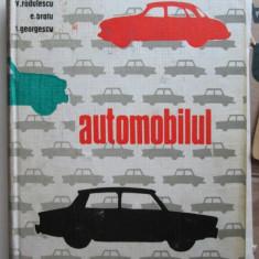 Carte tehnica Auto, 1968: Automobilul, V. Radulescu - E. Bratu - T. Georgescu - Carti auto