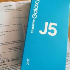 SAMSUNG J5 model 2017 nou cu Factura - Telefon Samsung, Negru, 16GB, Neblocat, Dual SIM
