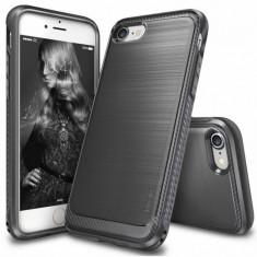 Husa Protectie Spate Ringke Onyx Mist Gray plus folie protectie display pentru Apple iPhone 7 - Husa Telefon Ringke, iPhone 7/8 Plus, Plastic, Carcasa