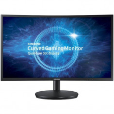 Monitor Samsung C27FG70FQU Gaming Curved 27 inch 1ms Negru - Monitor LED