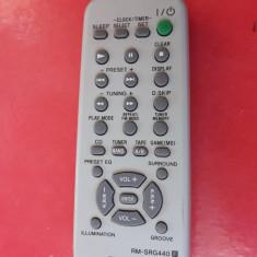 TELECOMANDA SONY RM-SRG440, FUNCTIONEAZA, STARE FOARTE BUNA . - Telecomanda aparatura audio