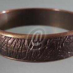 Bratara de cupru, 7 cm - Arta din Metal