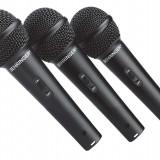 Set 3 microfoane cu fir Behringer XM1800S