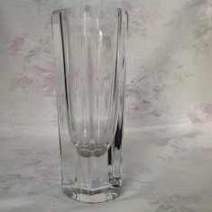 Vaza din cristal Kosta Boda, Suedia - Vaza sticla