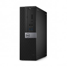 Sistem desktop Dell OptiPlex 3046 SFF Intel Core i3-6100 4GB DDR4 500GB HDD Linux - Sisteme desktop fara monitor