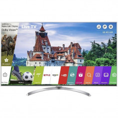 Televizor LG LED Smart TV 55 SJ810V 139cm 4K Ultra HD Silver - Televizor LED