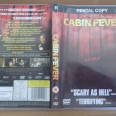 Cabin Fever - rental Copy - DVD [B] - Film SF, Engleza