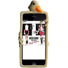 Husa Protectie Spate Moschino B7927 Luisa Auriu pentru APPLE iPhone 5s, iPhone SE