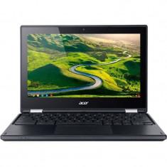 Laptop Acer Chromebook R11 11.6 inch HD Touch Intel Celeron N3050 2 GB DDR3 32 GB eMMC Chrome OS Black, Sub 80 GB