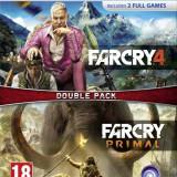 Joc consola Ubisoft Ltd COMPILATION FAR CRY 4 si FAR CRY PRIMAL pentru PS4 - Jocuri PS4