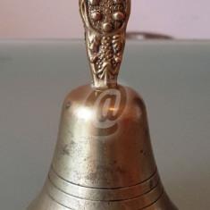 Clopotel alama, functional, 11 cm - Arta din Metal